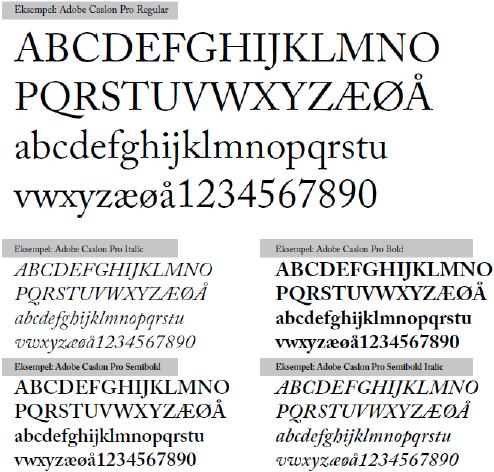Profil MIF Typografi